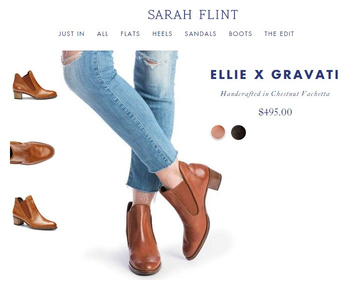 Ботинки Sarah Flint