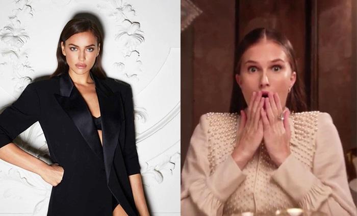 Ирина Шейк и Алла Костромичева в  рекламной кампании Jean Paul Gaultier