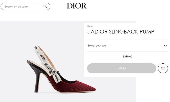 Туфли J'ADIOR Christian Dior