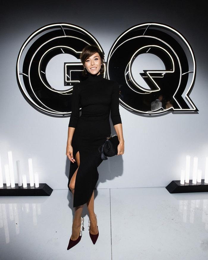 Алина Астровская на вечеринке GQ