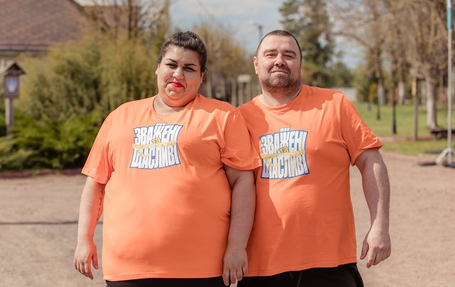 Зважені та щасливі 9 сезон Лала Алиева и Руслан Садовой