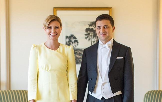 Елена Зеленская и Владимир Зеленский