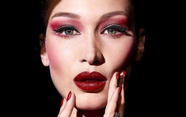Белла Хадид в рекламе DIOR Makeup