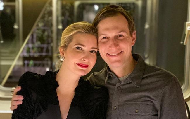 Иванка Трамп с мужем Джаредом Кушнером