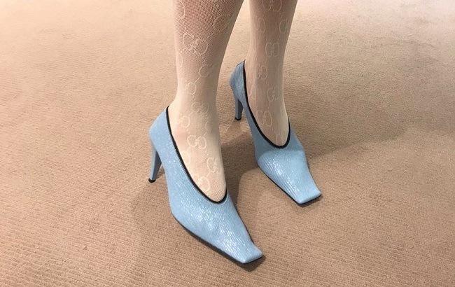 босоножки с квадратным носком
